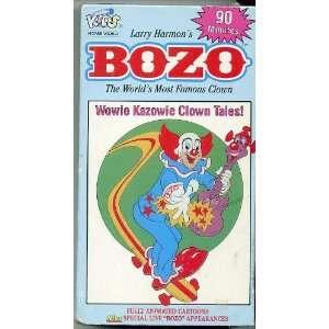 Bozo the Clown: Wowie Kazowie Clown Tales [VHS]: Movies