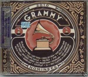 GRAMMY 2010 CD LADY GAGA THE BLACK EYED PEAS KATY PERRY