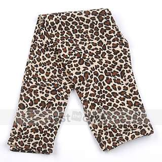 Sexy Fashion Women Ladies Leopard Print Slim Leggings Tights Pants
