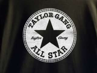 TAYLOR GANG ALL STARS T SHIRT SZ M WIZ KHALIFA SHIRTS