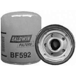Baldwin BF592 Heavy Duty Diesel Fuel Spin On Filter Automotive