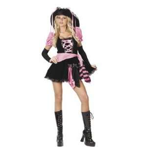 Pirate Pink Punk Womans Costume   Womens Costumes