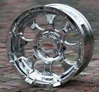 20 inch chrome Wheels rim Moto Metal 955 GMC Chevy 1500 trucks 6 lug
