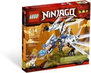 LEGO Ninjago Series 2260 Ice Dragon Attack