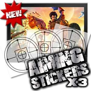 BULLETSTORM EPIC QUICK SCOPE AID X 3 XBOX 360 PS3