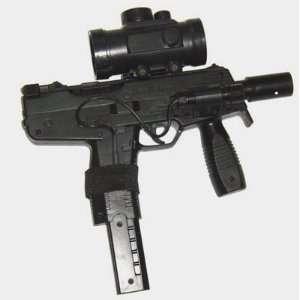 Steyr TMP Pistol FPS 125, Scope, Laser Airsoft Gun