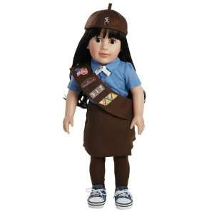 Adora Play Doll Abigail   Girl Scout Brownie 18 Doll