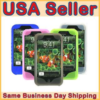 Silicone Skin Case Cover For iPhone 1G 2G 3G 3GS   BUNDLE SET   6