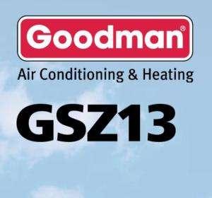 ton Goodman 13 SEER Heat Pump Condenser GSZ130241