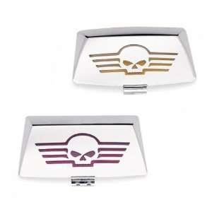 Harley Davidson Fender Tip Lens Kit Willie G Skull 59651
