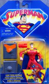 Superman Animated X Ray Vision Series Action Figure New