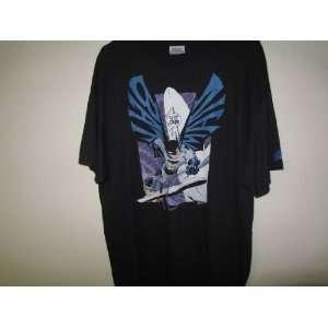 Batman T shirt Hanes Tagless Size M