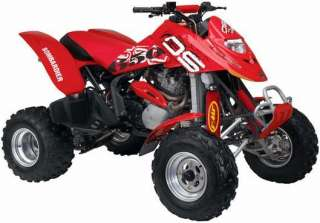 RED Shock Covers BOMBARDIER DS 650 DS650 atv Set 3