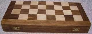 folding Storage Box Board India Maharaja hand carved solid wood NEW