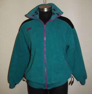 Columbia Sportswear Zipper Front Fleece Jacket Coat Womens Large
