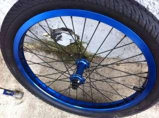 2012 UNITED BIKE SU3 PARTS KIT BLACK SU 3 BMX BLUE S&M FIT WHEELS BARS