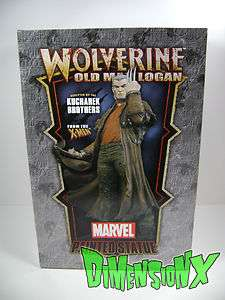 BOWEN DESIGNS WOLVERINE OLD MAN LOGAN STATUE NEW MCNIVEN X MEN