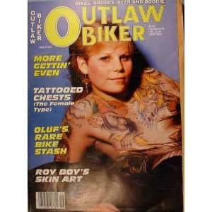 Outlaw Biker vol. 1, No. 5, June 1985: Casey Exton: Books