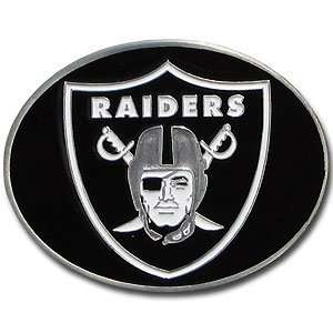 NFL Football Oakland Raiders Logo Buckle with Hand Enameled Finish