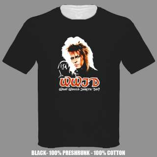 Labyrinth David Bowie movie 80s t shirt ALL SIZES