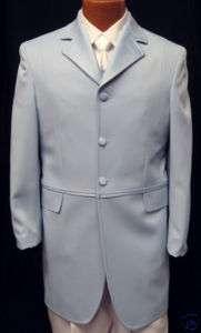 Andrew Fezza Blue Captain Coat Tuxedo Jacket Prom 44S