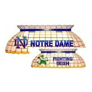 Beau ... Notre Dame Fighting Irish Pool Table Light: Sports ...