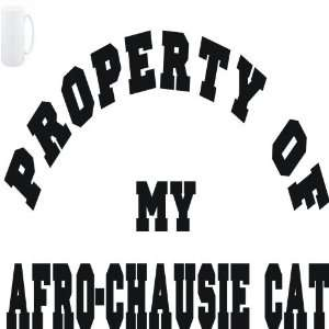 Mug White  PROPERTY OF MY Afro Chausie  Cats Sports