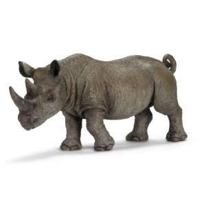 Schleich Wild Life African Black Rhino, Male Toys & Games