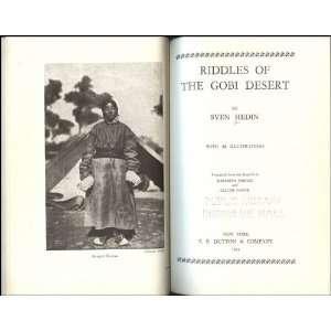 Riddles of the Gobi Desert Sven Anders Hedin Books