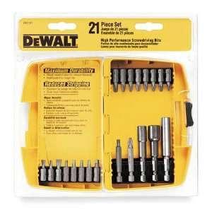 DEWALT DW2161 SD Heavy Duty 21 Piece Set with Translucent case