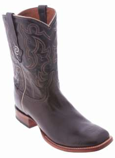 Resistol Ranch by Lucchese Coffee Brown M7037 Ranch Hand Mens Cowboy
