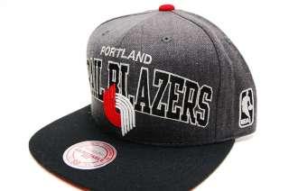 Portland Trailblazers GREY ARCH Snapback Basketball Mitchell & Ness