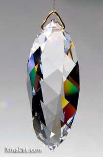 50mm SWAROVSKI 8950 8011 50 Twist 2 inch Austrian Crystal Prism FS