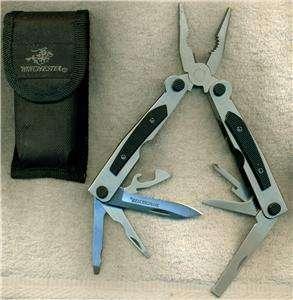 WINCHESTER KNIFE MULTI PURPOSE TOOL AND SHEATH