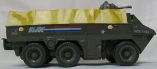 Vintage 1983 GI JOE APC Amphibious Personnel Carrier Vehicle Complete