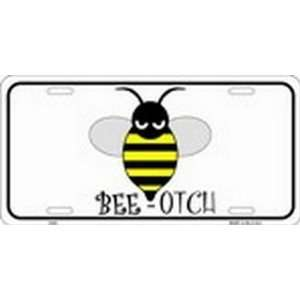 BEE OTCH License Plate License Plate Plates Tags Tag auto vehicle car