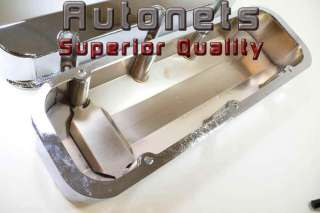 Chrome Fabricated Aluminum Big Block Chevy 396 427 454 502 Valve Cover
