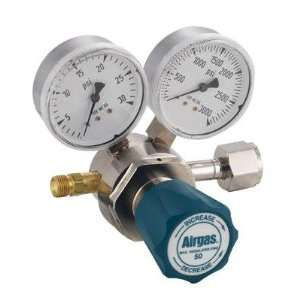 200 PSI Delivery Single Stage Brass Oxygen Regulator With 3000 PSI