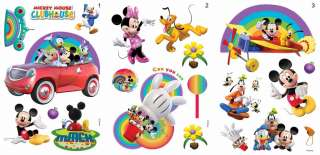 MICKEY MOUSE CLUBHOUSE DISNEY MINI MOUSE BORDER SELF AD