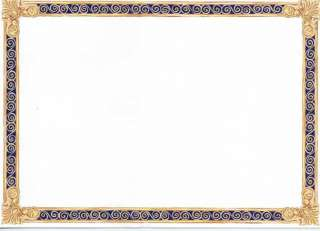 Navy Blue And Gold Border | www.pixshark.com - Images ...