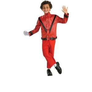 Dlx Red Thriller Jacket Style# 884243 (large) Toys