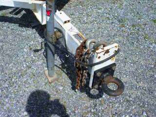 2008 Altec DC1217 Wood Chipper, Only 195 Hours, Caterpillar Diesel