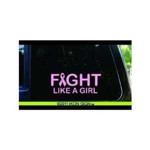 CANCER awareness / survivor   6 PINK   VINYL DECAL WINDOW STICKER