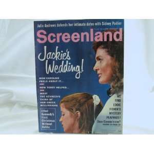 SCREENLAND MAGAZINE, JANUARY 1969, (JACKIE OS WEDDING