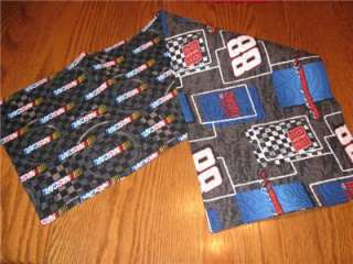 Handmade Table Runner Nascar Dale Jr #88 Decor cars