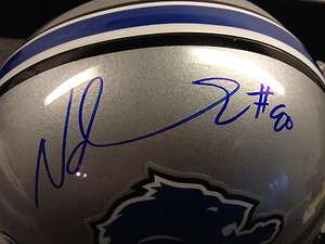 NDAMUKONG SUH Autograph FULL SIZE Detroit Lions Helmet