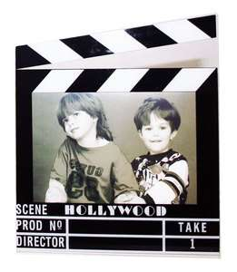 Hollywood Acrylic Clapboard Picture Frame   4x6   5422