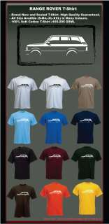 RANGE ROVER CLASSIC T SHIRT   RETRO INSPIRED   ALL SIZES   MANY