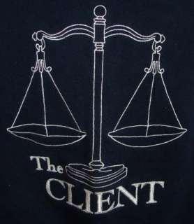 THE CLIENT Film CREW Sweat Shirt JACKET XL Brad Renfro