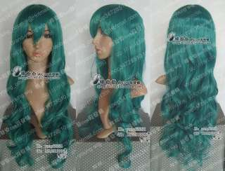 Bleach Neliel Nel Neptune Sailor Moon Green Cosplay wig